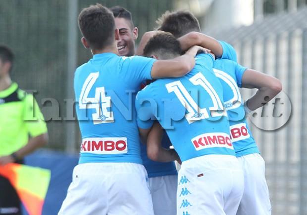 RILEGGI IL LIVE – Under 17 A e B, Napoli-Latina 2-0 (26'Gaetano, 28'st Palmieri): conquistati i primi tre punti