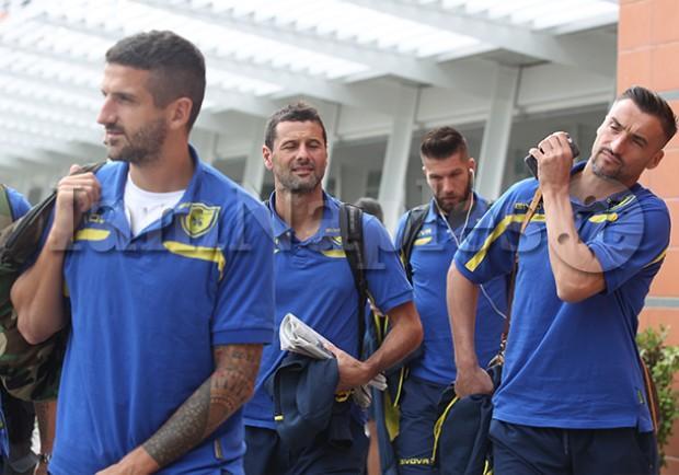 PHOTOGALLERY – Il Chievo arriva a Napoli: ecco gli scatti di IamNaples.it!