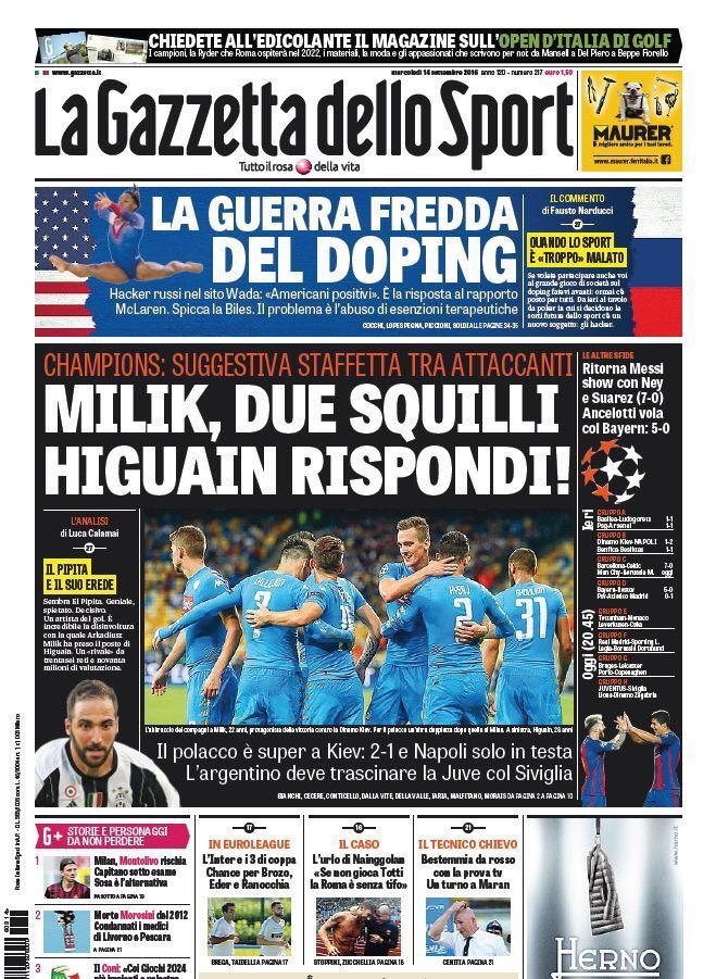 gazzetta-dello-sport-in-prima-pagina