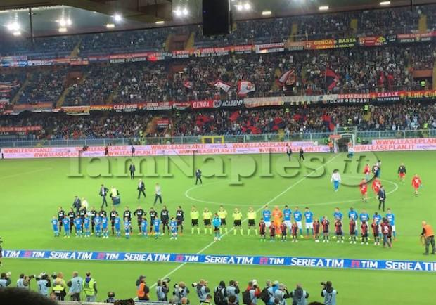 RILEGGI IL LIVE – Genoa-Napoli 0-0: gli azzurri sbattono contro un buon Genoa
