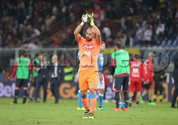 Genoa-Napoli: 0-0, le pagelle. Super Reina, i cambi di Sarri non incidono sul match