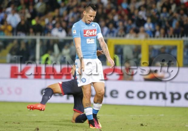 SKY – Napoli, Jorginho è affaticato: Sarri pensa di spostare Hamsik in cabina di regia