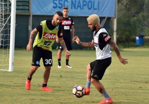 SSC Napoli, mercoledì la ripresa degli allenamenti in vista del match con la Roma