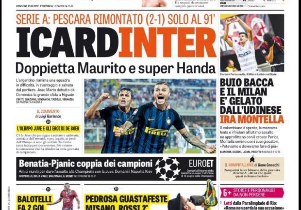 """FOTO – La Gazzetta dello Sport in prima pagina a Totti: """"Perchè smettere?"""""""