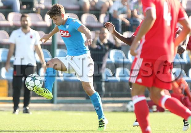 Youth League, Napoli-Benfica 2-3: le pagelle di IamNaples.it