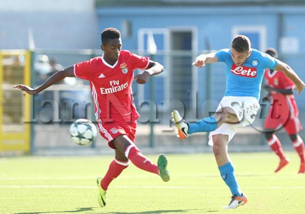 VIDEO – Youth League, Napoli-Benfica 2-3: gli highlights del match