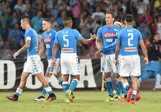 FOTO – Serie A, dopo la quarta giornata Napoli solo in vetta