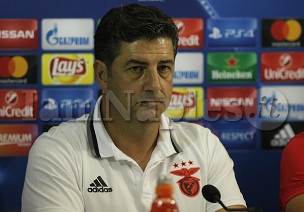 """Rui Vitoria: """"Possiamo qualificarci, il girone è equilibrato. Sul Napoli dico che…"""""""