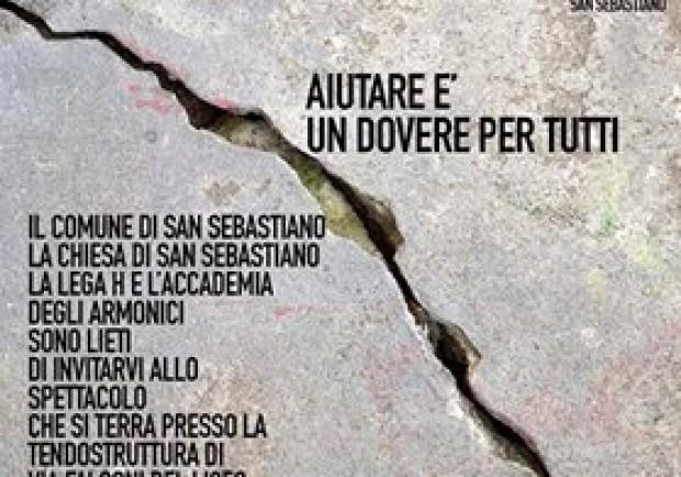 Sabato 24 Settembre serata di solidarietà a San Sebastiano al Vesuvio
