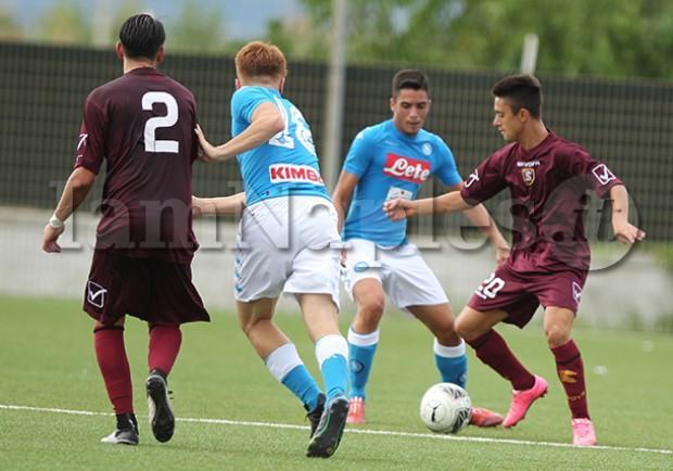 RILEGGI IL LIVE – Under 17 A e B, Salernitana-Napoli 2-3 (22′ Micillo, 32′ Messina, 17′ s.t Gaetano, 23′ s.t Ferrara, 43′ s.t Capaccio)
