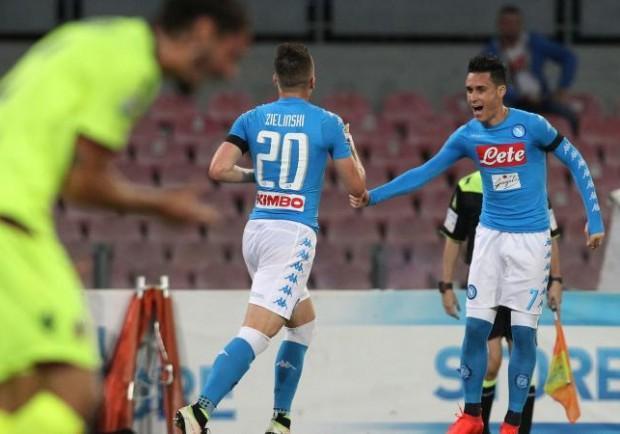 """FOTO – A pochi minuti dal calcio d'inizio, il tweet della Ssc Napoli: """"Azzurri al Ferraris, Forza Napoli!"""""""
