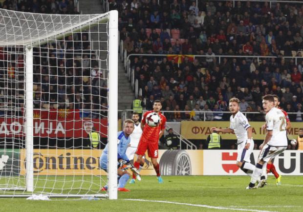 Macedonia-Italia 2-3, grande rimonta degli azzurri con doppietta di Immobile