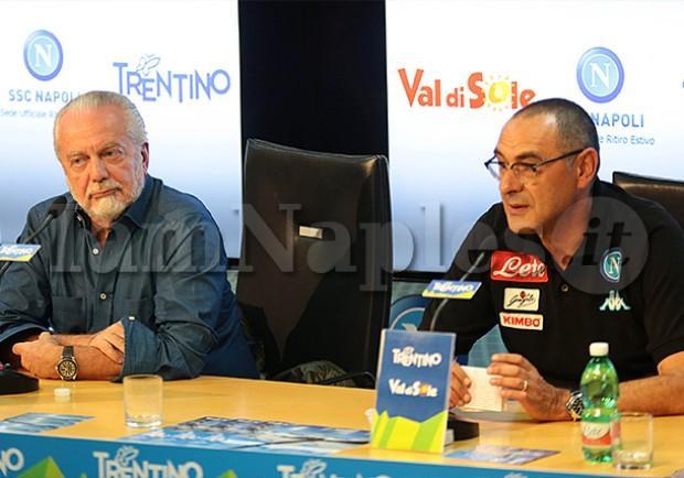 ANSA – De Laurentiis irritato dall'attesa di Sarri, possibile blitz per l'esonero