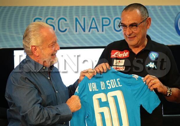 """Radio Crc: """"Incontro Sarri-De Laurentiis a pranzo, oggi si decide il futuro del Napoli"""""""
