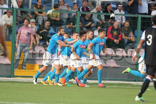 Youth League: Napoli-Besiktas finisce 2-2. Reti di Russo e Liguori