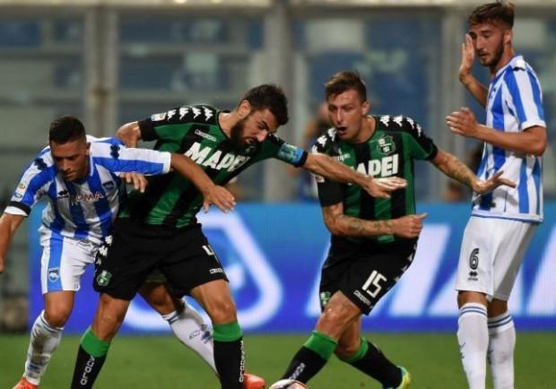 Sassuolo-Pescara, respinto il ricorso dei neroverdi: confermato lo 0-3 a tavolino