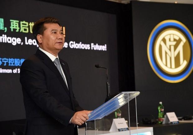 """Inter, Ming Zheng: """"Dobbiamo entrare in Champions per poterla vincere di nuovo!"""""""