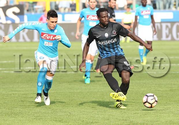 """L'Eco di Bergamo titola così: """"Sorpresa Atalanta, battuto il grande Napoli"""""""