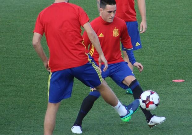 """FOTO – Spagna, Callejon e Reina in gruppo: le foto dell'allenamento della """"Roja"""""""
