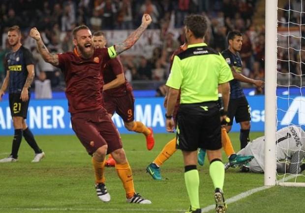VIDEO – Roma-Inter, labiale shock di capitan De Rossi al gol di Dzeko!