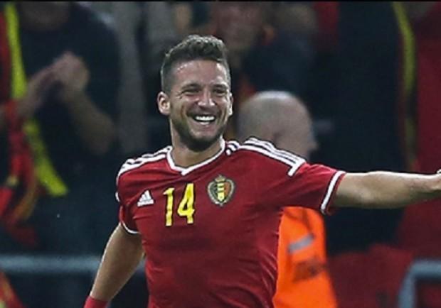 Qualificazioni Mondiali, Belgio – Gibilterra 9-0: un goal e due assist per l'azzurro Mertens