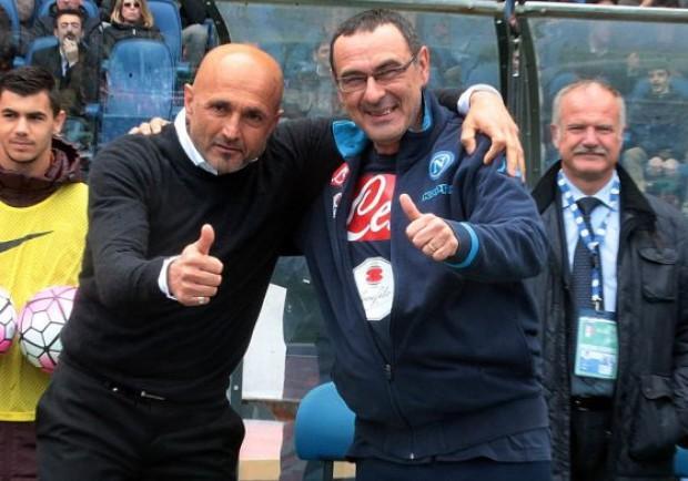 GRAFICO – Napoli-Roma, i due super attacchi a confronto: Sarri punta su Milik e Callejon