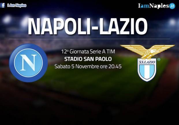 GRAFICO FORMAZIONE – Napoli-Lazio, torna l'attacco leggero. Diawara e Chiriches tra i titolari