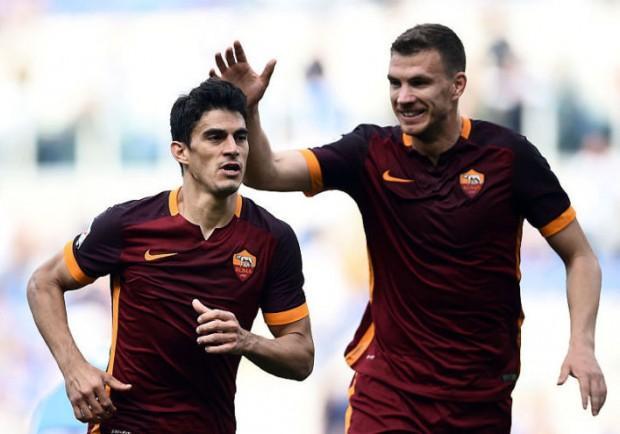 Serie A, Benevento-Roma 0-4: un'altra doppietta per Dzeko, i sanniti restano a zero punti