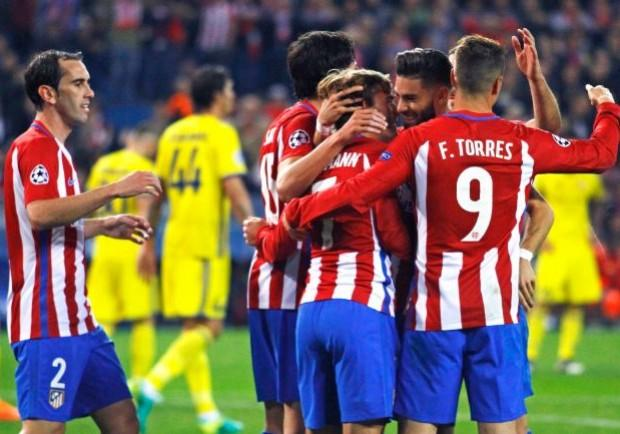 Liga, Atletico Madrid – Malaga 1-0: esordio vincente nel nuovo stadio per i Colchoneros