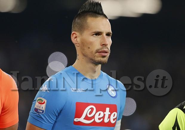 """VIDEO – La SSC Napoli celebra Hamsik: """"Marek in Juventus-Napoli del 2009…"""""""