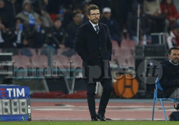 """Roma, Di Francesco: """"Contro l'Atletico sarà una battaglia, Strootman sarà il nostro leader"""""""