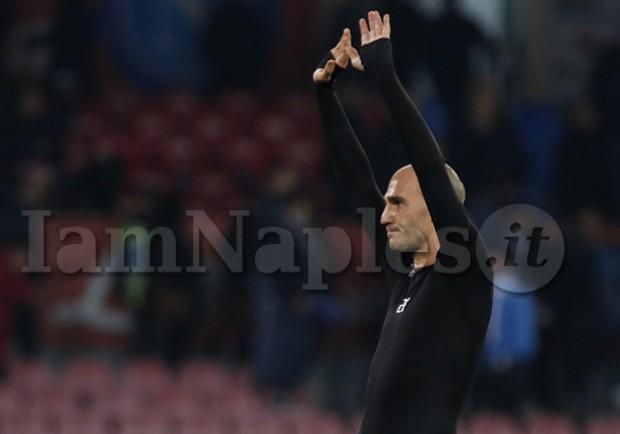 """Paolo Cannavaro ai compagni del Sassuolo: """"Il  calcio mi mancherà, ma voi di più"""""""