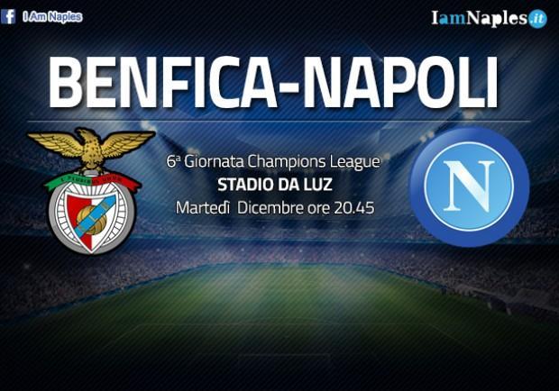 GRAFICO FORMAZIONE – Benfica-Napoli: obiettivo ottavi, Sarri lancia Gabbiadini. Panchina per Mertens?