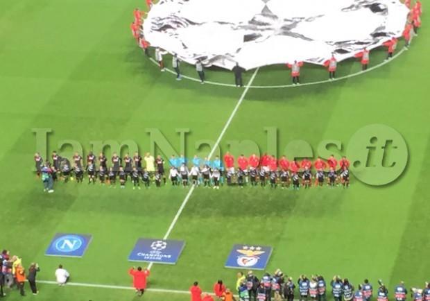 RILEGGI IL LIVE – Benfica-Napoli 1-2 (60′ Callejòn, 79′ Mertens, 87′ Raùl Jimenez)