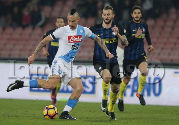 Inter, Brozovic out: a rischio il derby e il Napoli