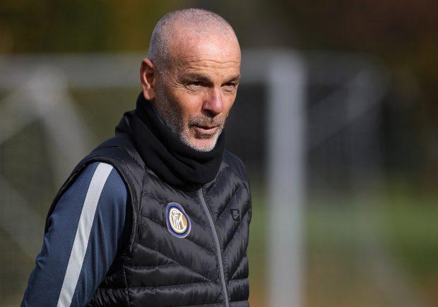 """Inter, Pioli: """"Adesso anche l'avversario, con tutto il rispetto per il Napoli, passa in secondo piano"""""""
