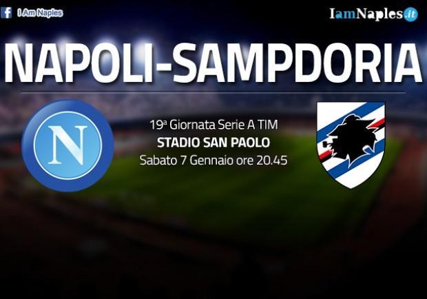 GRAFICO FORMAZIONE – Napoli-Sampdoria: Sarri pronto a schierare una difesa inedita senza Maksimovic