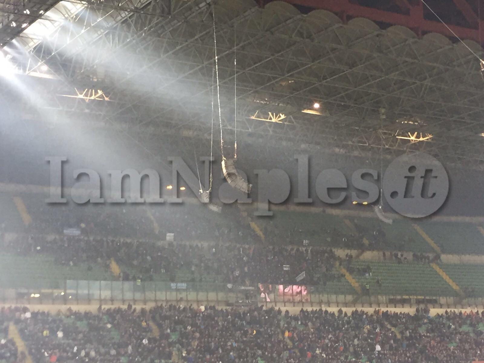 Milan Napoli settore ospiti