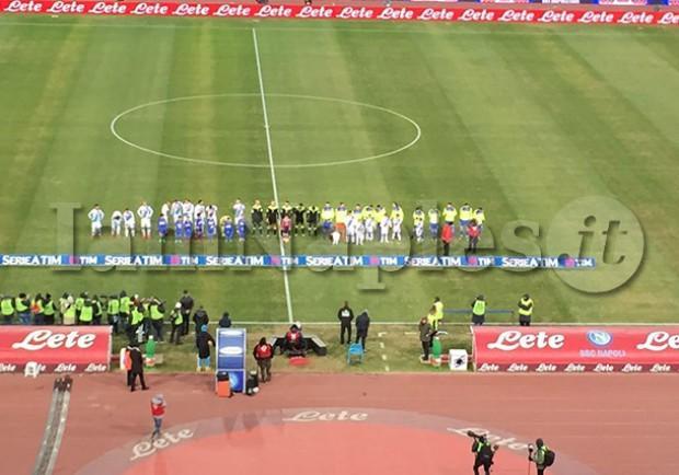 RILEGGI IL LIVE – Napoli-Sampdoria 2-1: Tonelli regala i tre punti agli azzurri al 95′, che esordio per il difensore!