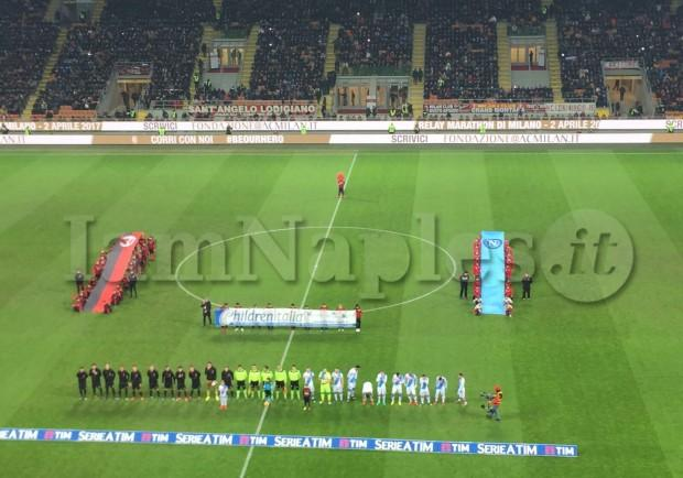 RILEGGI IL LIVE – Milan-Napoli: 1-2 (6′ Insigne, 9′ Callejon, 36′ Kucka). Espugnata San Siro!