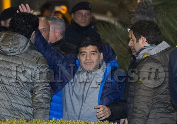 """FOTO – Maradona: """"Complimenti alla Spal per la gara contro il Napoli"""""""