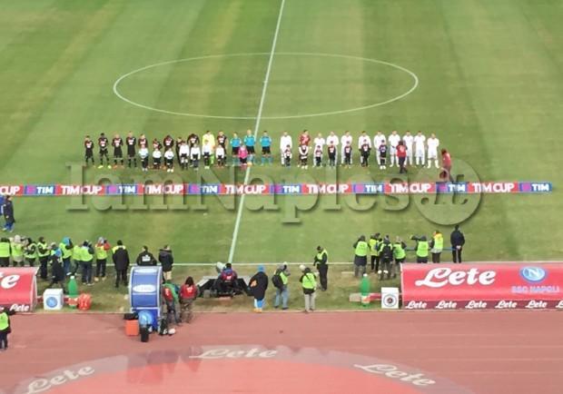 RILEGGI IL LIVE – Napoli-Spezia 3-1: gli azzurri passano ai quarti di finale della Tim Cup