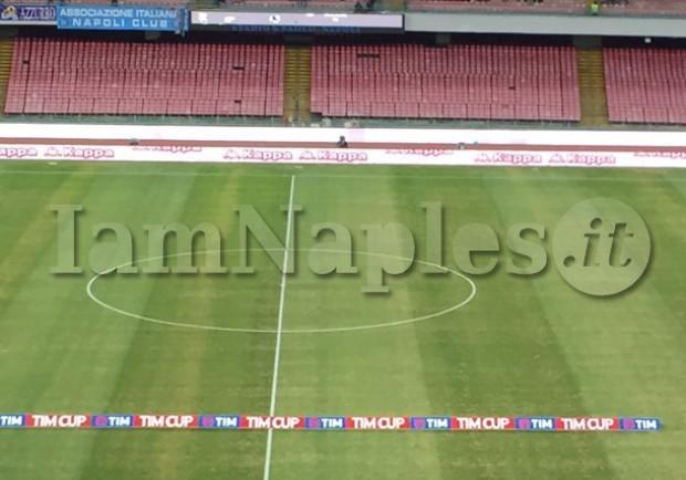 Napoli-Benevento, in vendita i biglietti per il settore ospiti