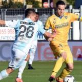 Frosinone-Pro Vercelli 2-1: 90′, assist e play-off per Maiello, Luperto ok