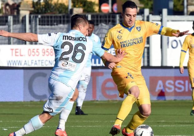 Il Frosinone batte il Palermo e torna in Serie A: decisivi Maiello e Ciano