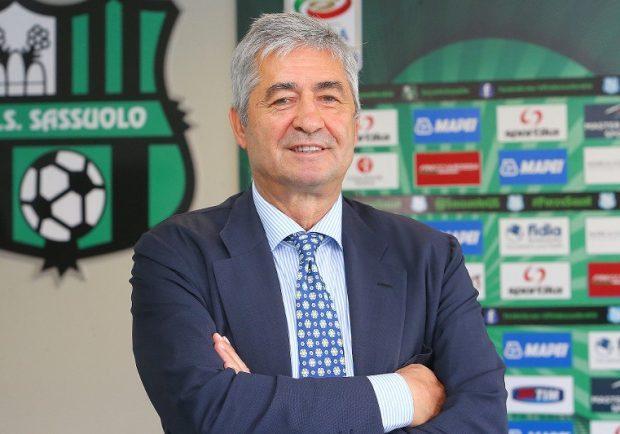 """Sassuolo, Angelozzi: """"Anche in Italia bisogna anticipare la chiusura del mercato come in Inghilterra"""""""