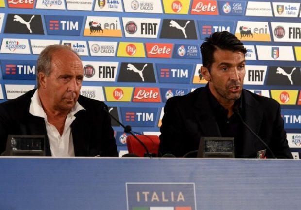 """Italia, Ventura: """"Chiellini? I nostri piani non cambiano"""". Buffon: """"Servirà personalità"""""""