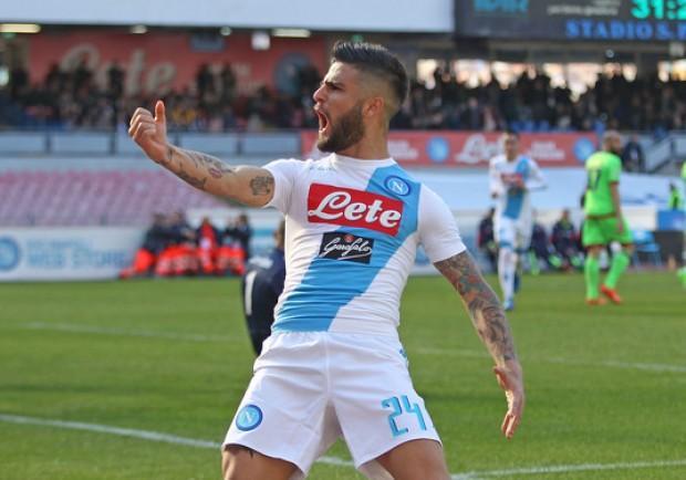 Con la doppietta rifilata all'Empoli, Insigne sale a 42 goal in azzurro: Calaiò dista appena due reti