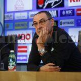 """RILEGGI IL LIVE- Sarri: """"Questa squadra deve migliorare solo sui dettagli. Ad Empoli partita difficile, i tifosi meritano di vincere"""""""
