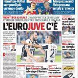 """FOTO – L'apertura del CorSport: """"Lazio-Napoli, quanti brividi Champions"""""""